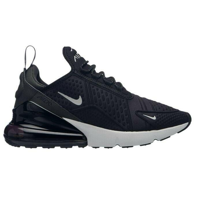 631917dfe001a Nike Women's Air Max 270 SE Premium Running Shoe Black/White AR0499 ...