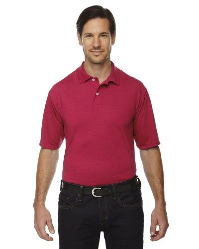 92e039ce5 Jerzees mens 5.3 oz Polyester Sport with Moisture-Wicking Polo (421M),  Men's, Size: XXL, Red