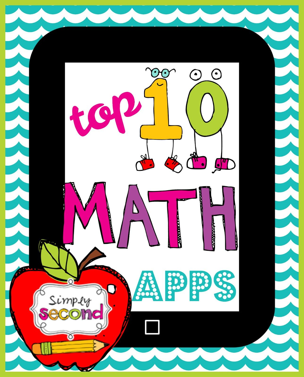 Simply Second Top 10 Math Apps Math apps, School apps
