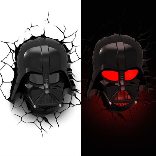 3d Darth Vader Wall Light Shut Up And Take My Money Take My Money Darth Vader Movie Room