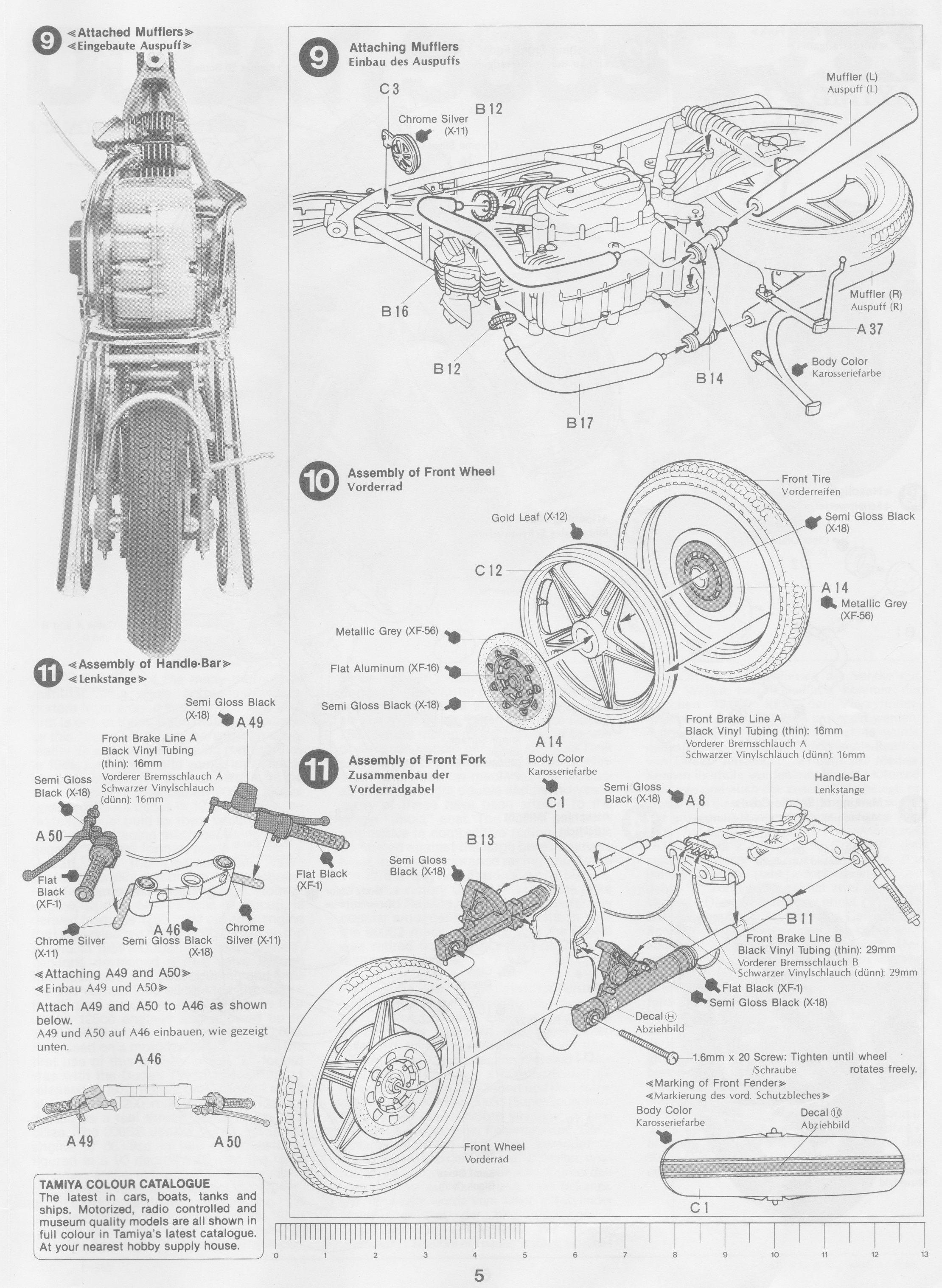 Pin de Gluefinger en Tamiya 1/12 Ducati 900SS