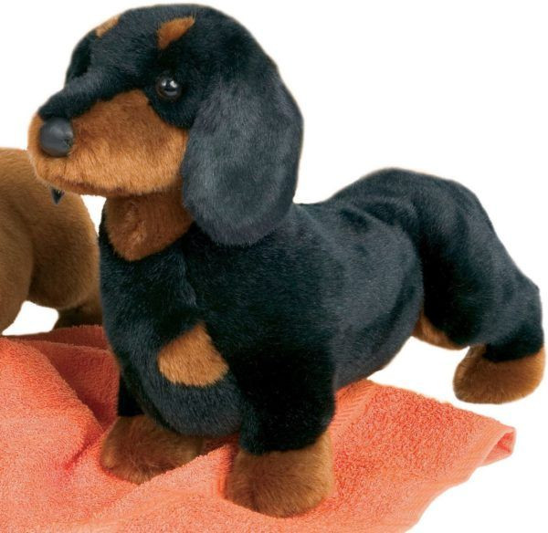 Black And Tan Stuffed Animal Doxie Toy Black And Tan Dachshund