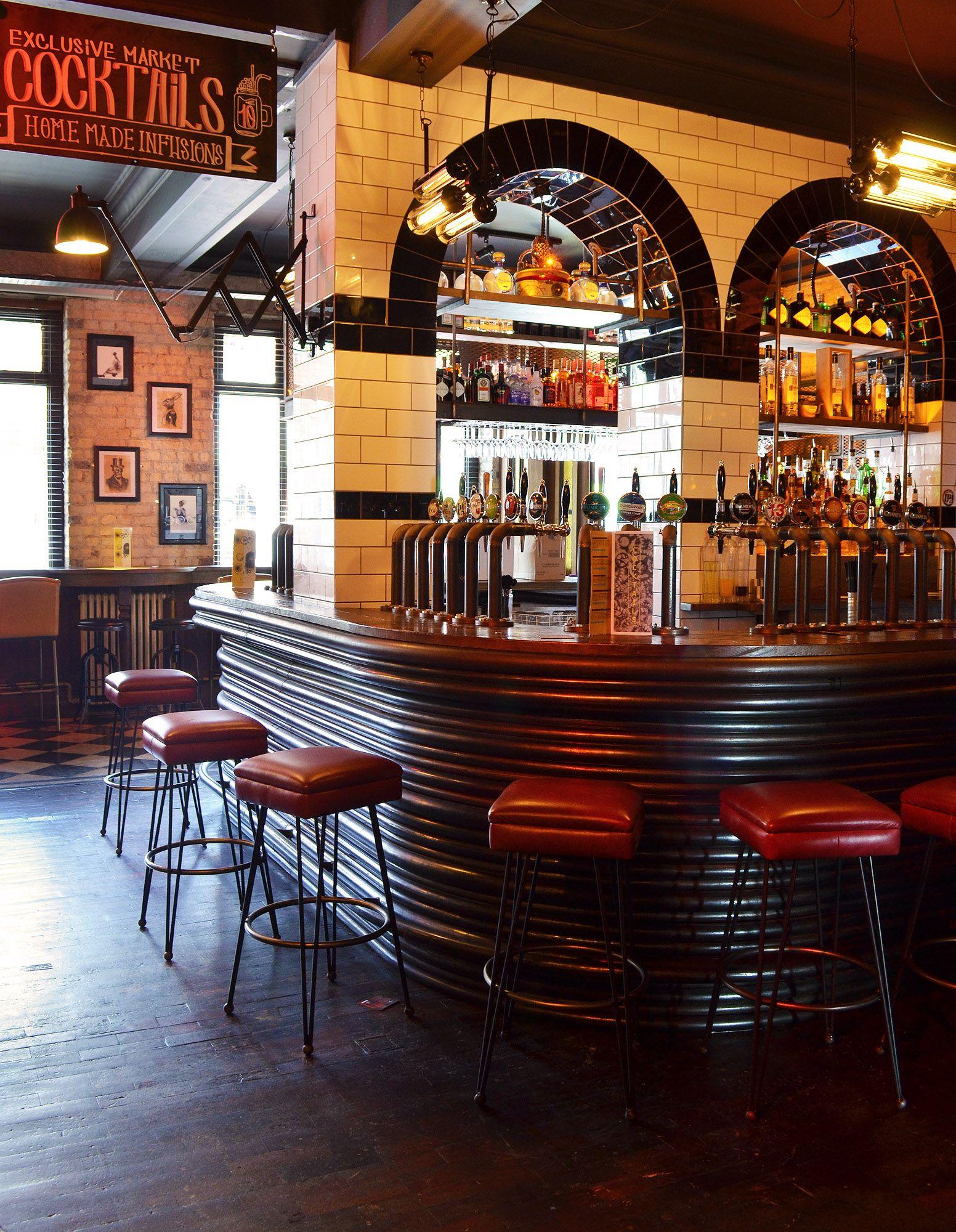 L estrange designs the camden exchange restaurant
