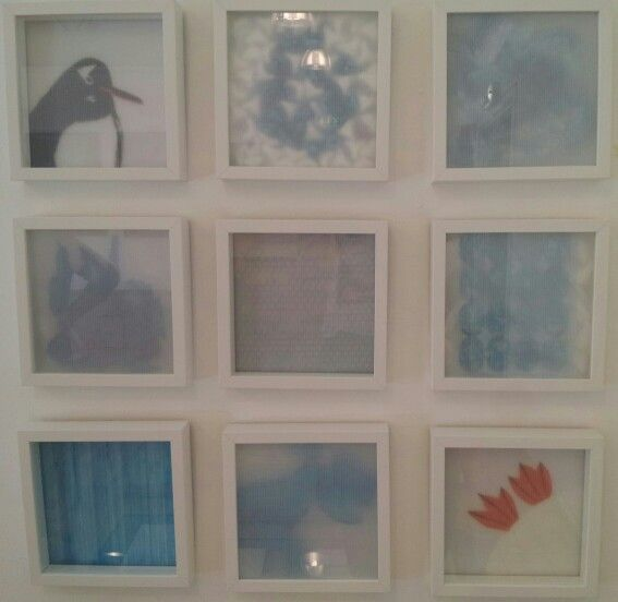 """My """"Antarktis"""" collage"""