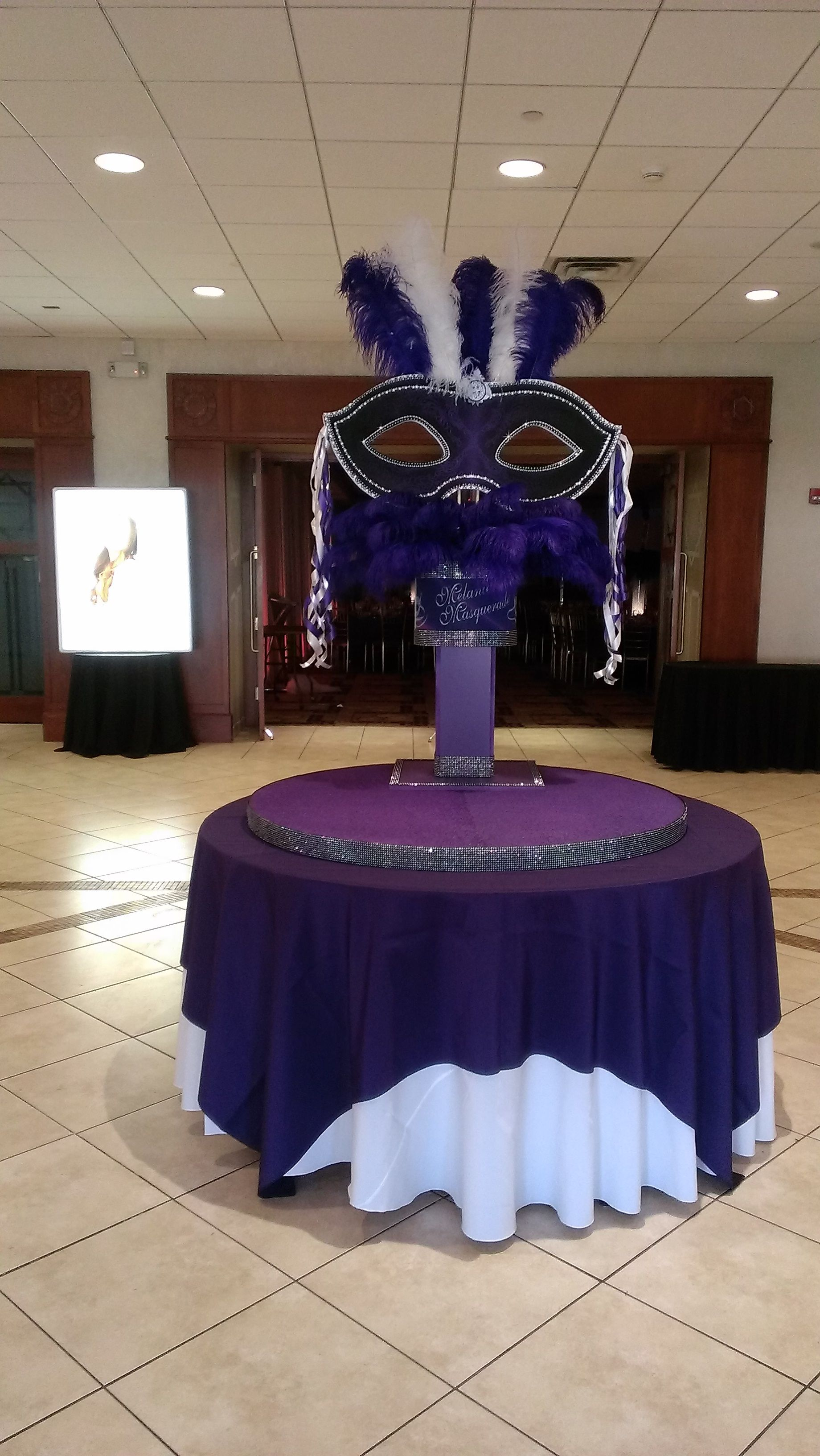 Masquerade Wedding Spice Up Your Mardi Gras Theme With These Type Of Masked Centerpieces Created By Lighter Than