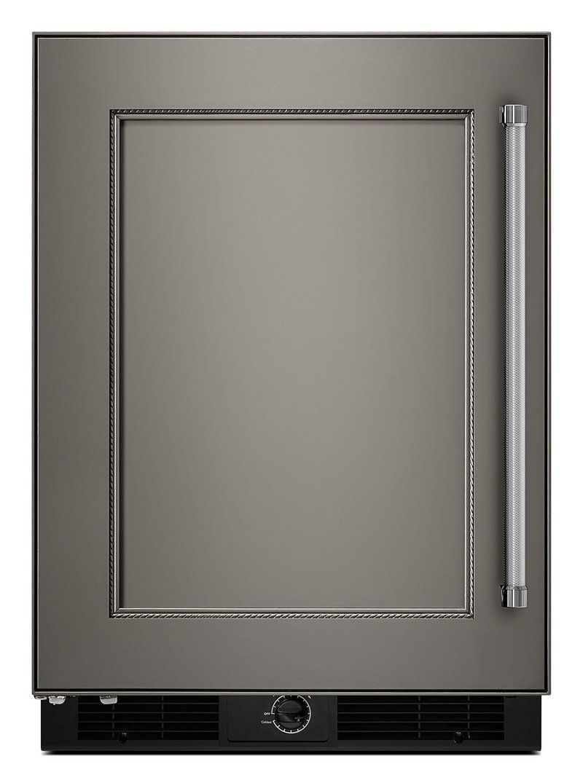 Kitchenaid 49 cu ft undercounter refrigerator with left