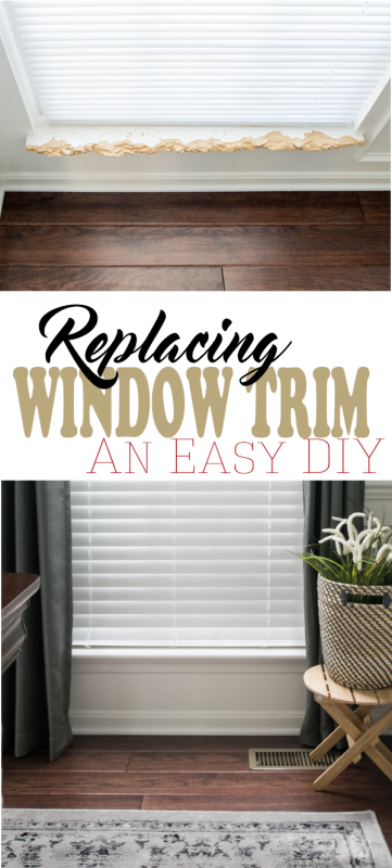 How to Repair the Interior Window Sill and Trim | Renovating