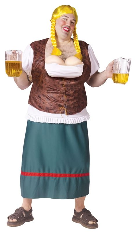 MISS OKTOBERBREAST PLUS SIZE COSTUME - 234289