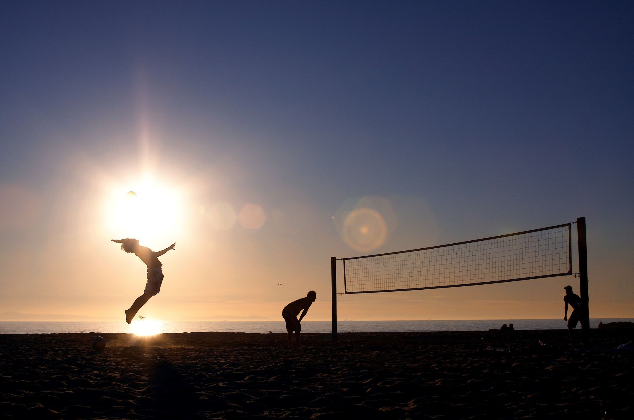Wonderful Beach Volleyball Wallpaper