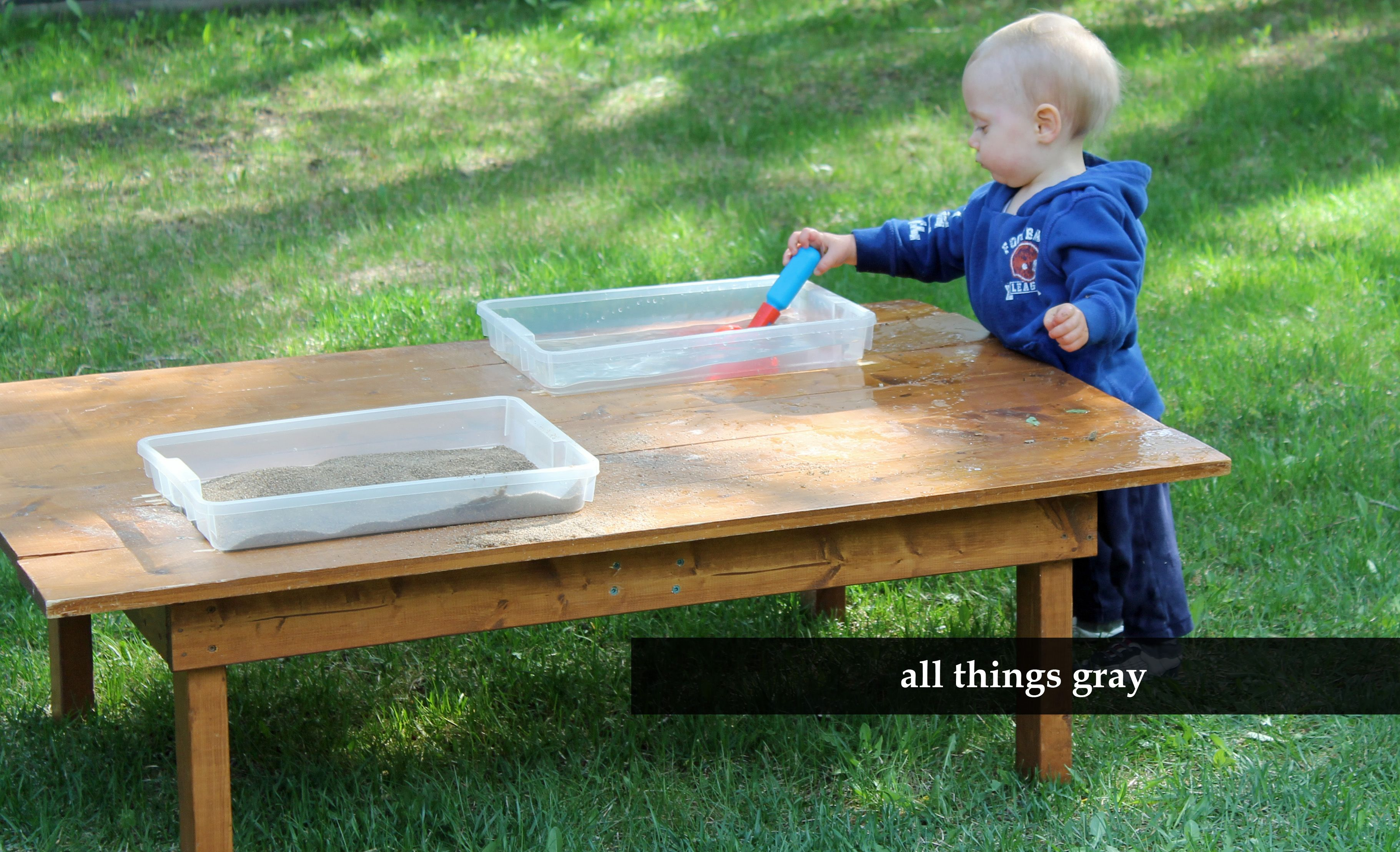 Swell Diy Sensory Table Teaching The Wee Ones Sensory Table Download Free Architecture Designs Scobabritishbridgeorg