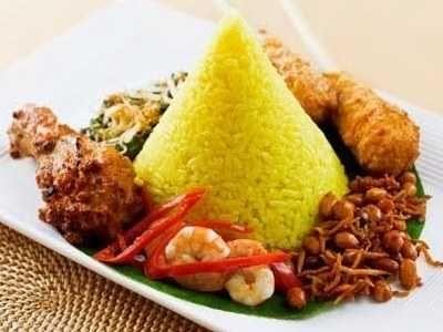 Resep Tumpeng Mini Nasi Putih Pungkur Robyong Komplit Bumbu Balado Resep Makanan Masakan