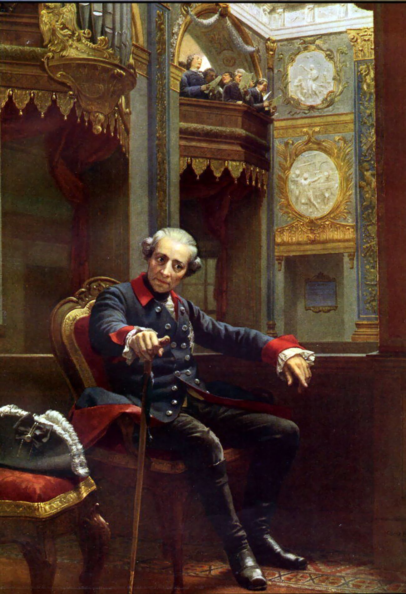 The significance of frederick the great in prussia