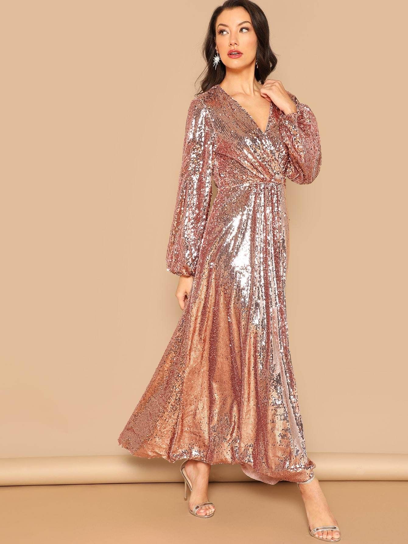 41+ Sequin long sleeve dress ideas