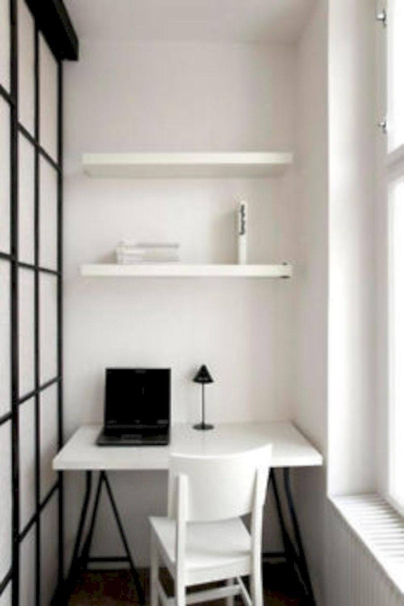 38 Neat and Clean Minimalist Workspace Design Ideas for Your Home ...
