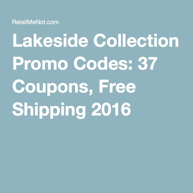 Lakeside Collection Promo Codes 37 Coupons Free Shipping 2016 Lakeside Collection Promo Codes Coding