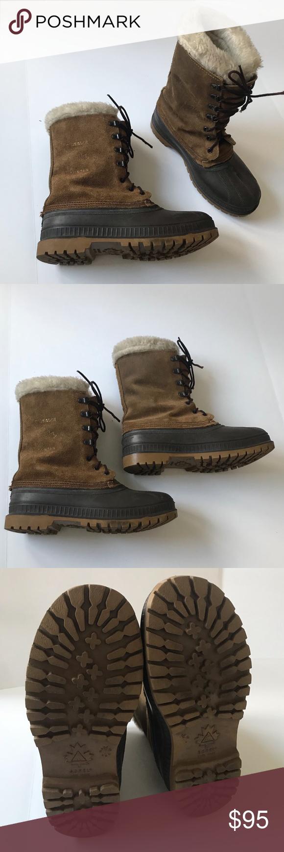 Sorel Boots Size 7 Steel Shank Winter