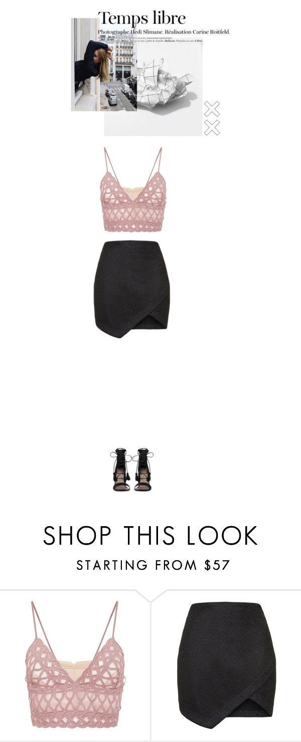 """LIFE UPDATE: MISS ME???"" by nerdyglasseschick on Polyvore featuring Jonathan Simkhai, Topshop, Hedi Slimane, Zimmermann, Heels, skirts, croptops, minimal and minimalistic"