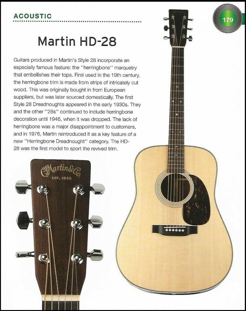 The 1976 Martin Hd 28 Martin Omc 16e Acoustic Guitar History Article Print Martin Martin Guitar Guitar Acoustic Guitar