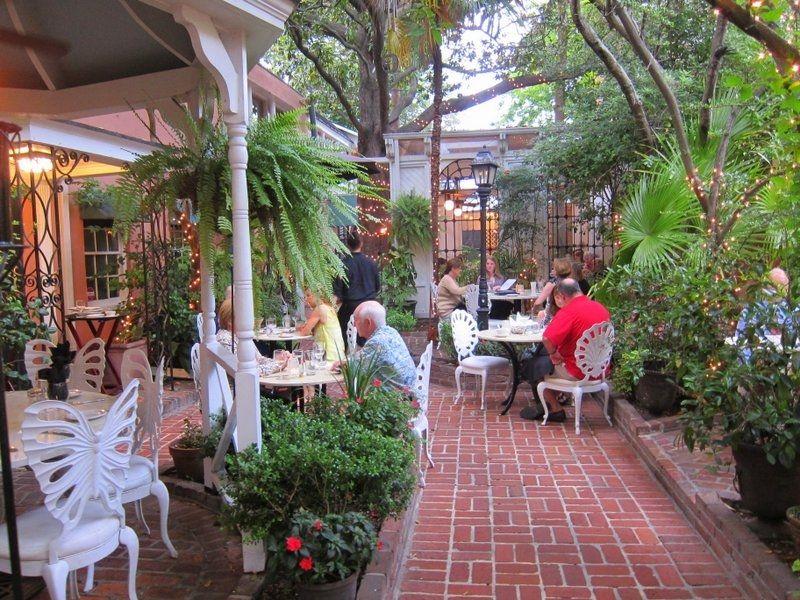 Outdoor Patio At 82 Queen, 82 Queen Street, Charleston, SC