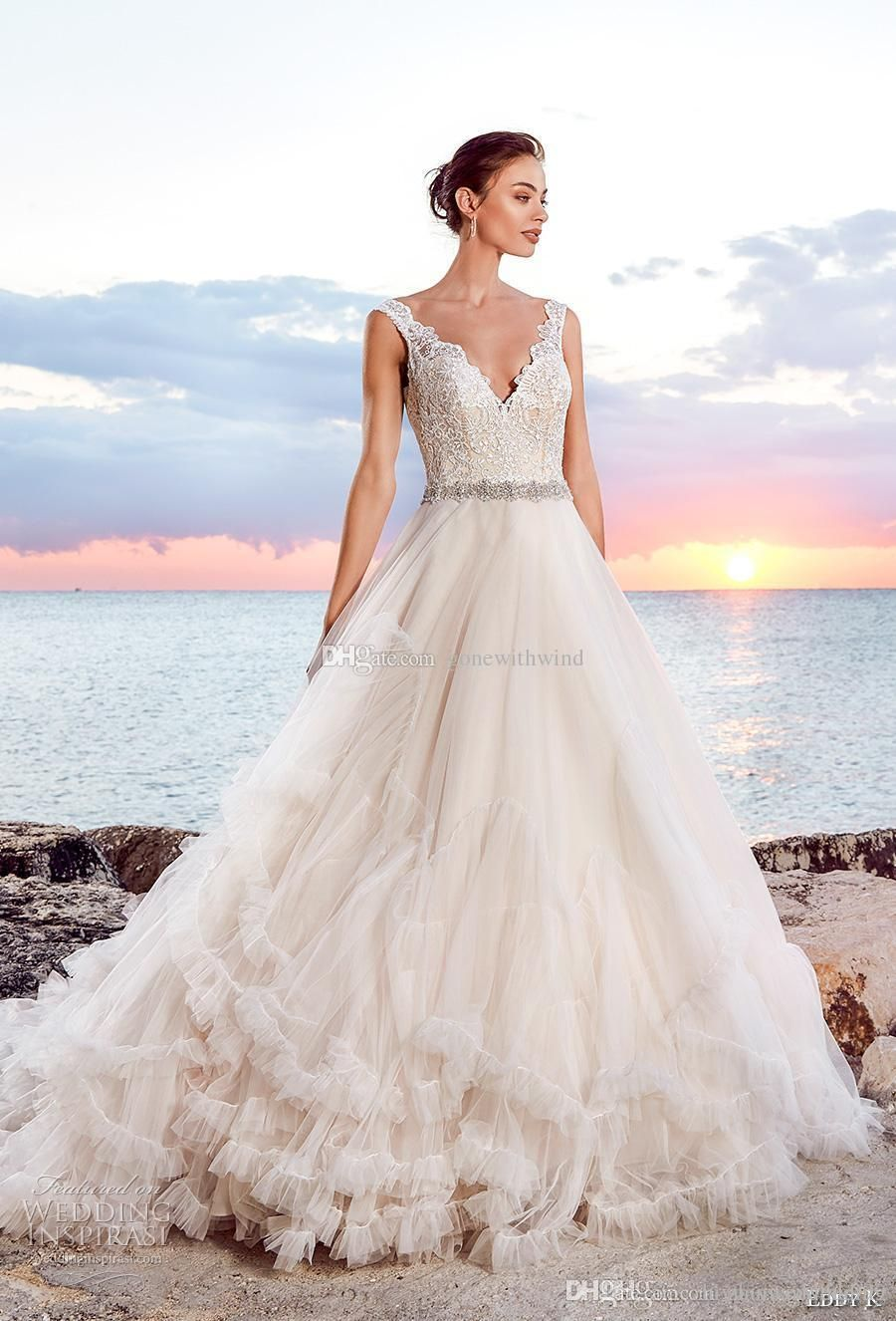 50+ Ball Gown Beach Wedding Dresses - Wedding Dresses for Guests ...