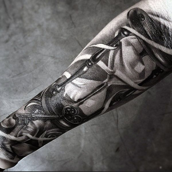 60 Hourglass Tattoo Designs For Men Passage Of Time Tattoos