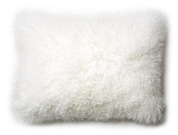 Mongolian 14x20 Lumbar Pillow, Frost | Instant Refresh | One Kings Lane