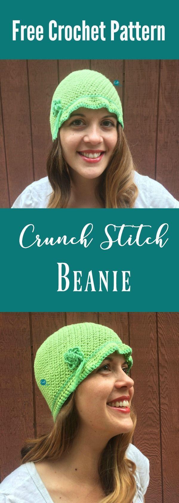 Women\'s Cloche Hat Free Crochet Pattern | Pinterest