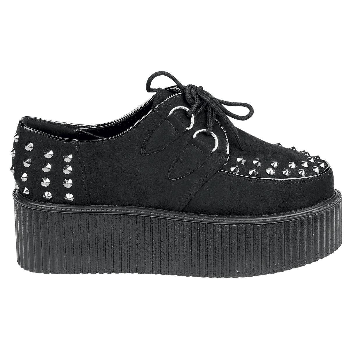 Creepers Stud Chaussures Emp Noir Pm0Lq2