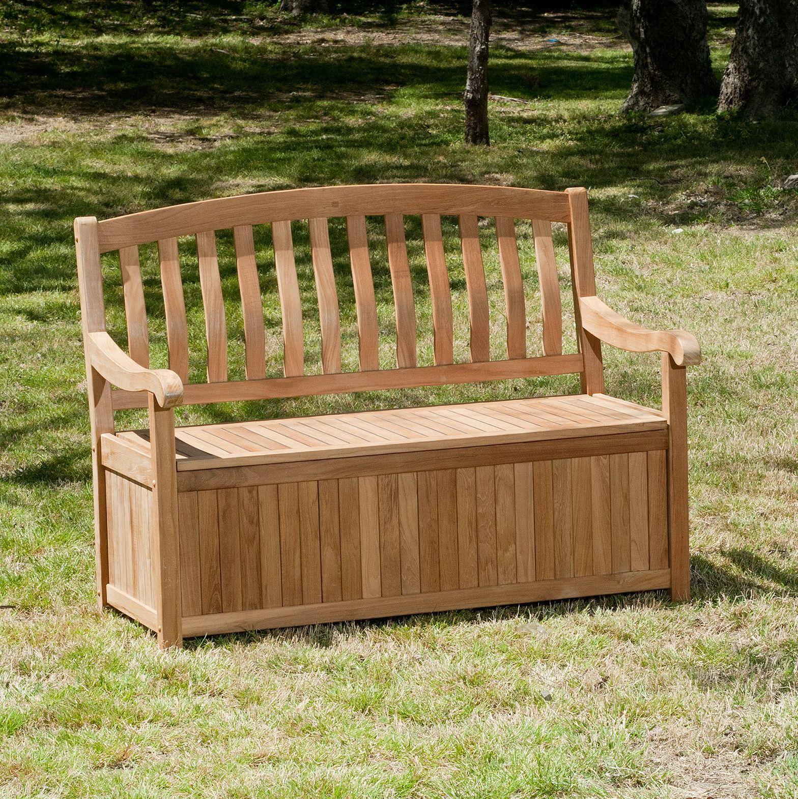 outdoor storage bench argos
