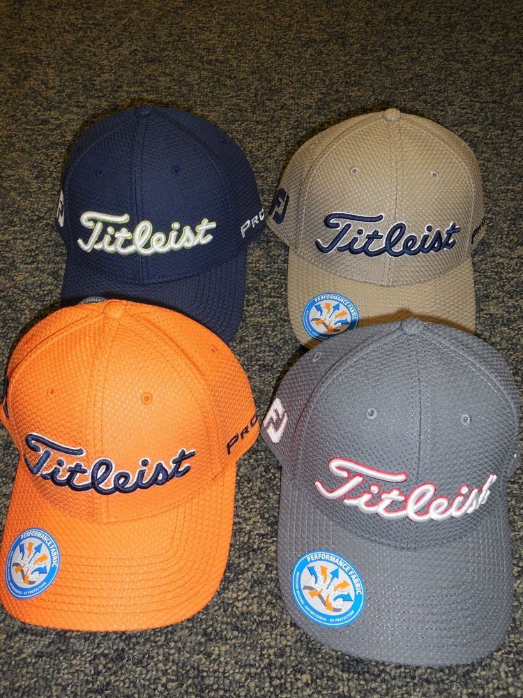 NEW Titleist Cubic Mesh FITTED Golf Hat Ball Cap fdc03a7a33a7