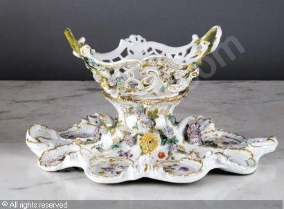 surtout de table | MEISSEN,GRAND SURTOUT DE TABLE,Brissonneau,Paris