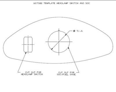 Ezgo  Template Headlamp Switch And Soc By Ezgo