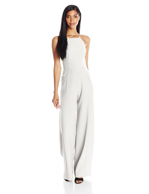 546e89c77940f Amazon.com: Black Halo Women's Joaquin Jumpsuit: Clothing   Dream ...
