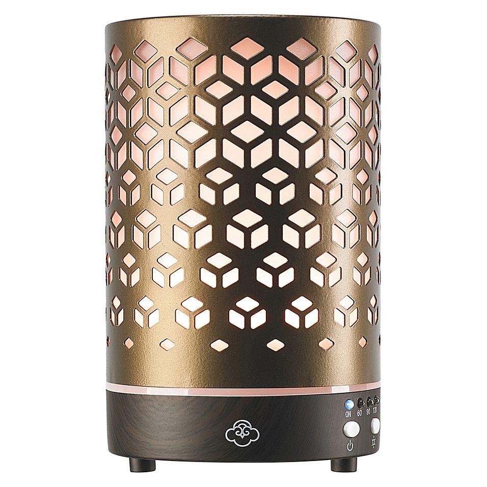 Serene House Lozenge Ultrasonic Aromatherapy Diffuser In Antique