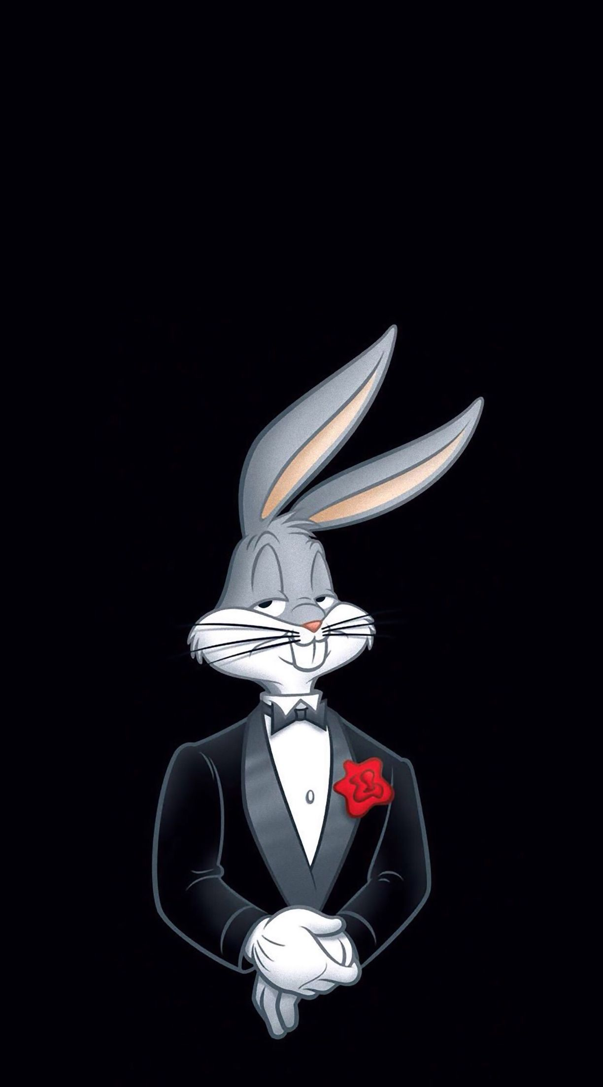 Bugs Bunny Wearing A Tuxedo Art Bugs Bunny Bunny Wallpaper Looney Tunes Wallpaper