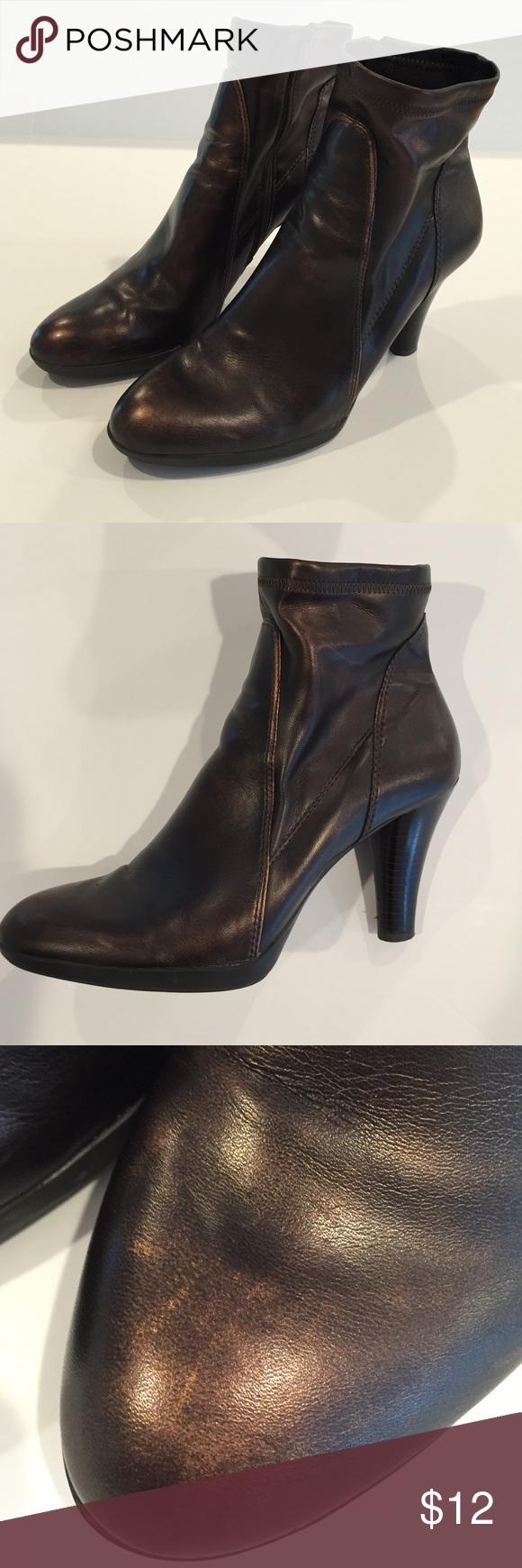 de2789ebd273 Franco sarto ankle boots rust metallic color ankle boots rubber soles have  a few png 580x1740