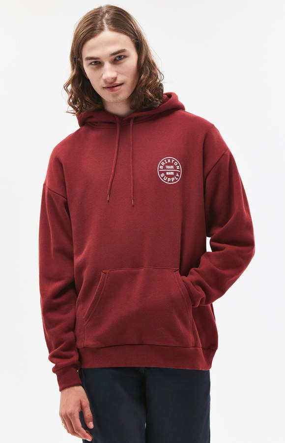 7b5247e38c Brixton Oath II Pullover Hoodie | Products | Hoodies, Pullover, Brixton