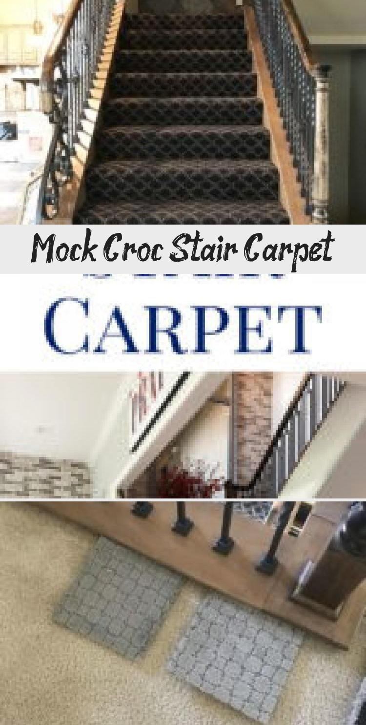 From dark to light I love our new stair carpet It fits our modern home style so much better now You can also get details on the modern spindles on the blog Mock Croc Stai...