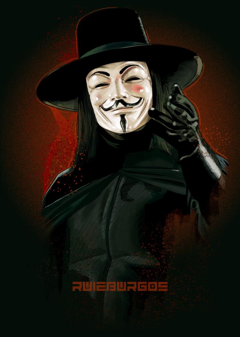 Artstation V For Vendetta Ruiz Burgos V For Vendetta V For Vendetta Comic Vendetta
