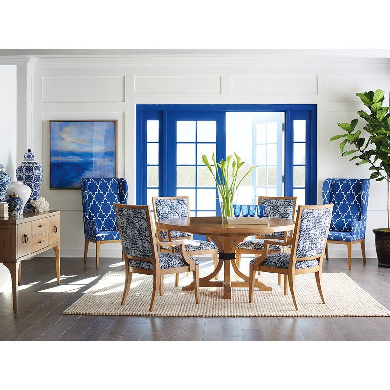 One Dining Room Three Different Ways: Newport 7 Piece Extendable Solid Wood Dining Set