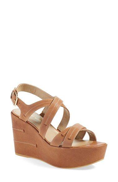 c6b297b76590 STUART WEITZMAN  Doublexing  Wedge Sandal (Women).  stuartweitzman  shoes   sandals