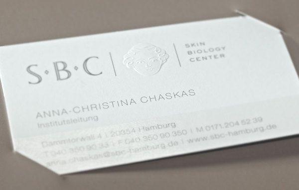 Skin Biology Center – luxury cosmetic institute by Marius Fahrner Design Hamburg , via Behance pinned by www.dynamik-druck.de