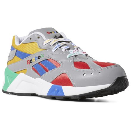 f76d20bd8 Reebok Shoes Unisex Aztrek x Billys Tokyo in  Billy-tingrey/Crshdcolbalt/Biggreen Size M 7 / W 8.5 - Retro Running Shoes
