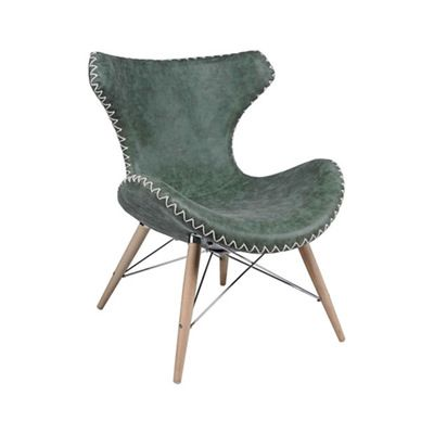Green Bainbridge Accent Chair Play With Color And Texture As You