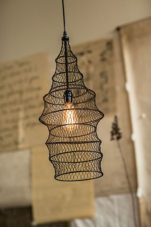 Fish Trap Wire Pendant Pendant Lamp Wire Pendant Hanging Lamp