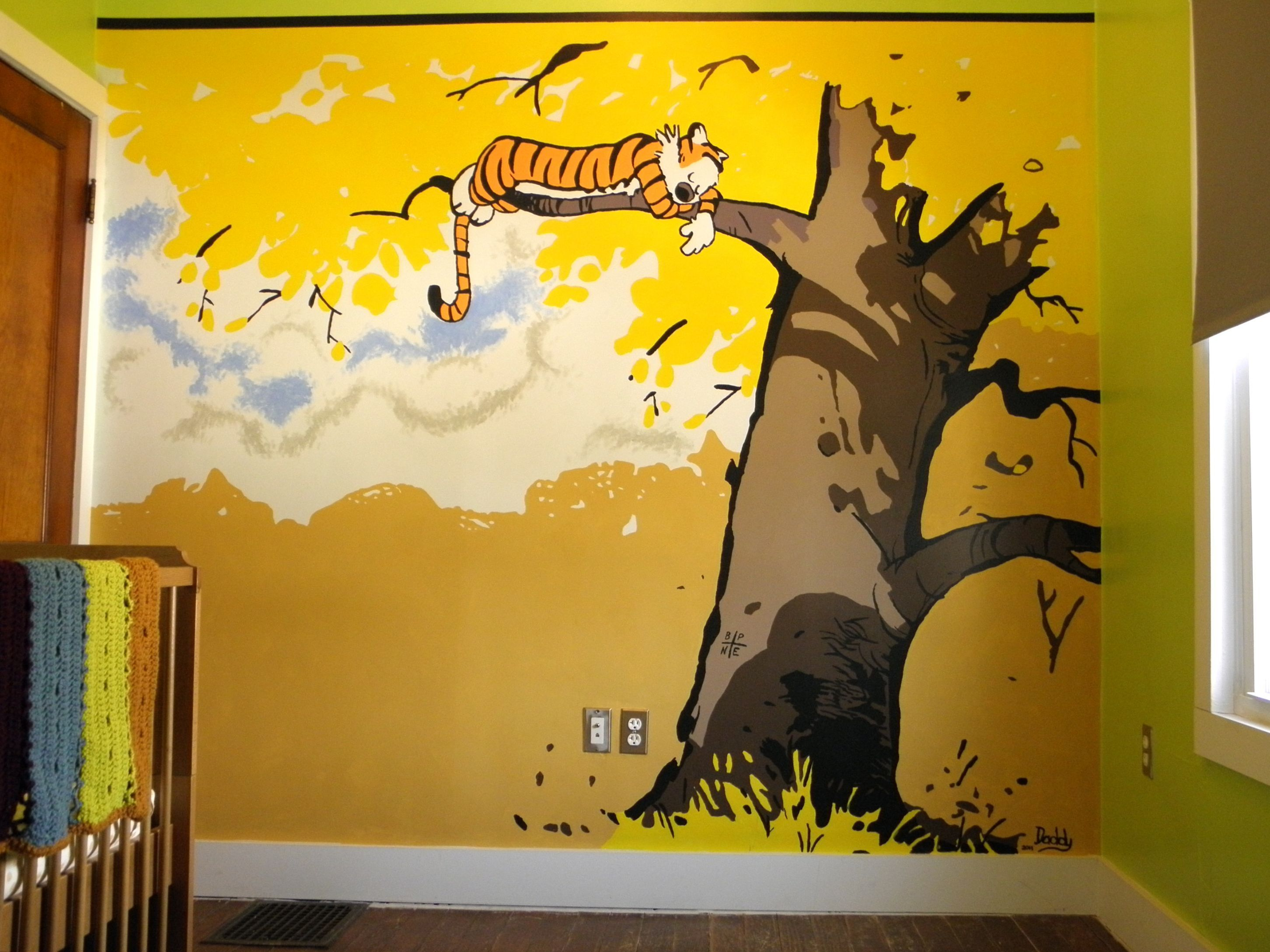 3 Calvin and Hobbes...and what a great idea for some wall art ...