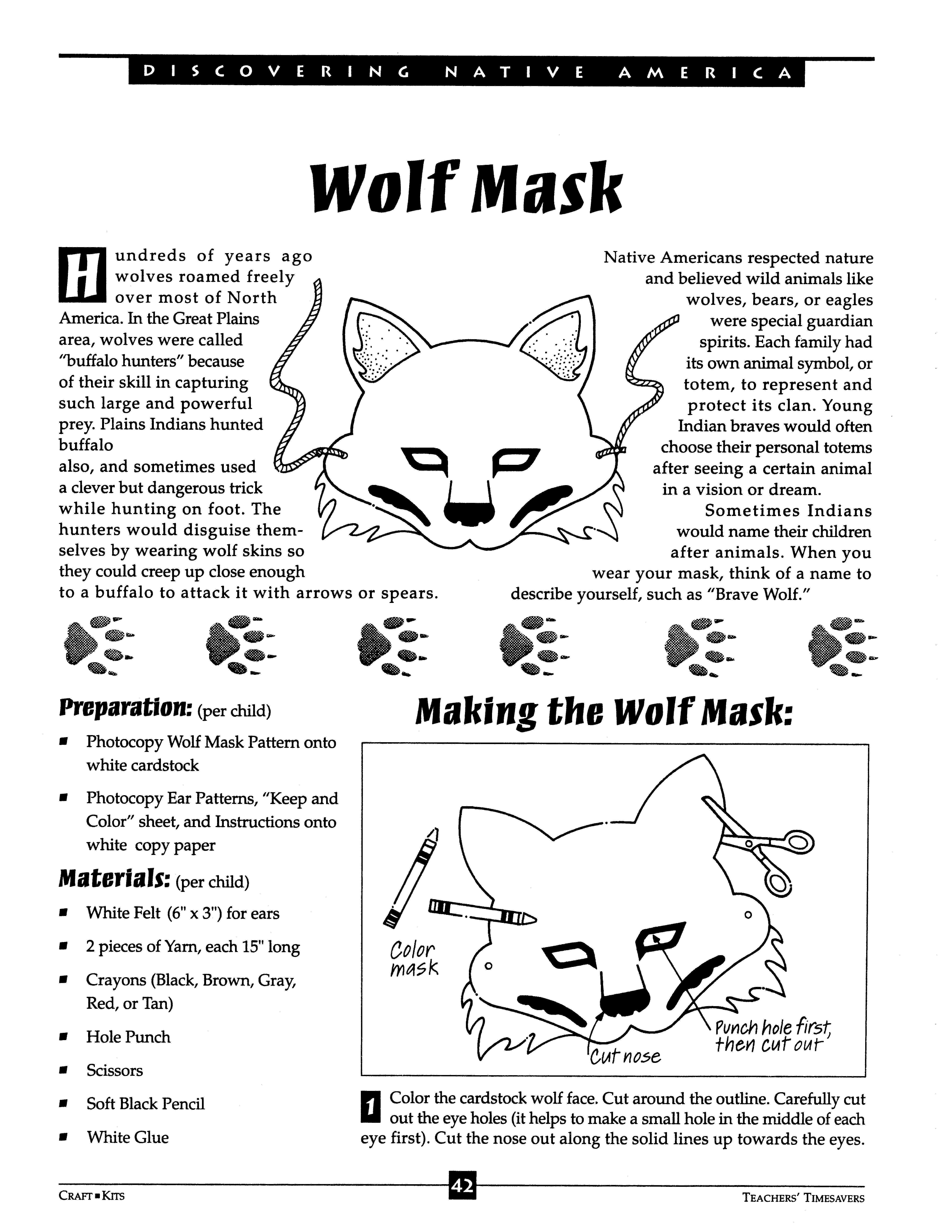 Wolf Mask 1 Of 4