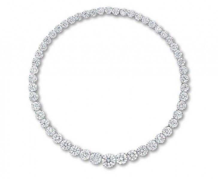 Christie's Diamond Necklace: $8.14 Million