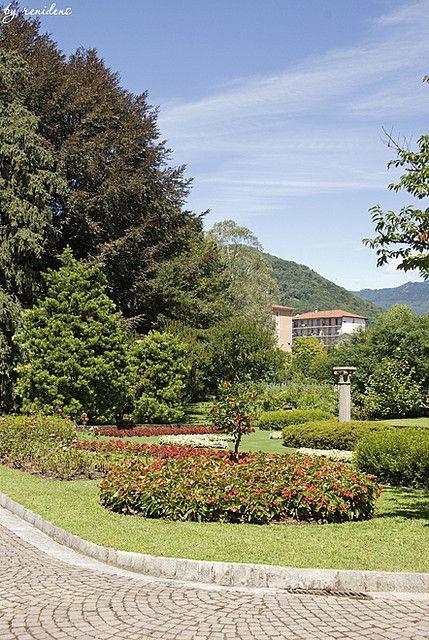 Villa Taranto Botanical Gardens, Lake Maggiore, Piedmont, Italy