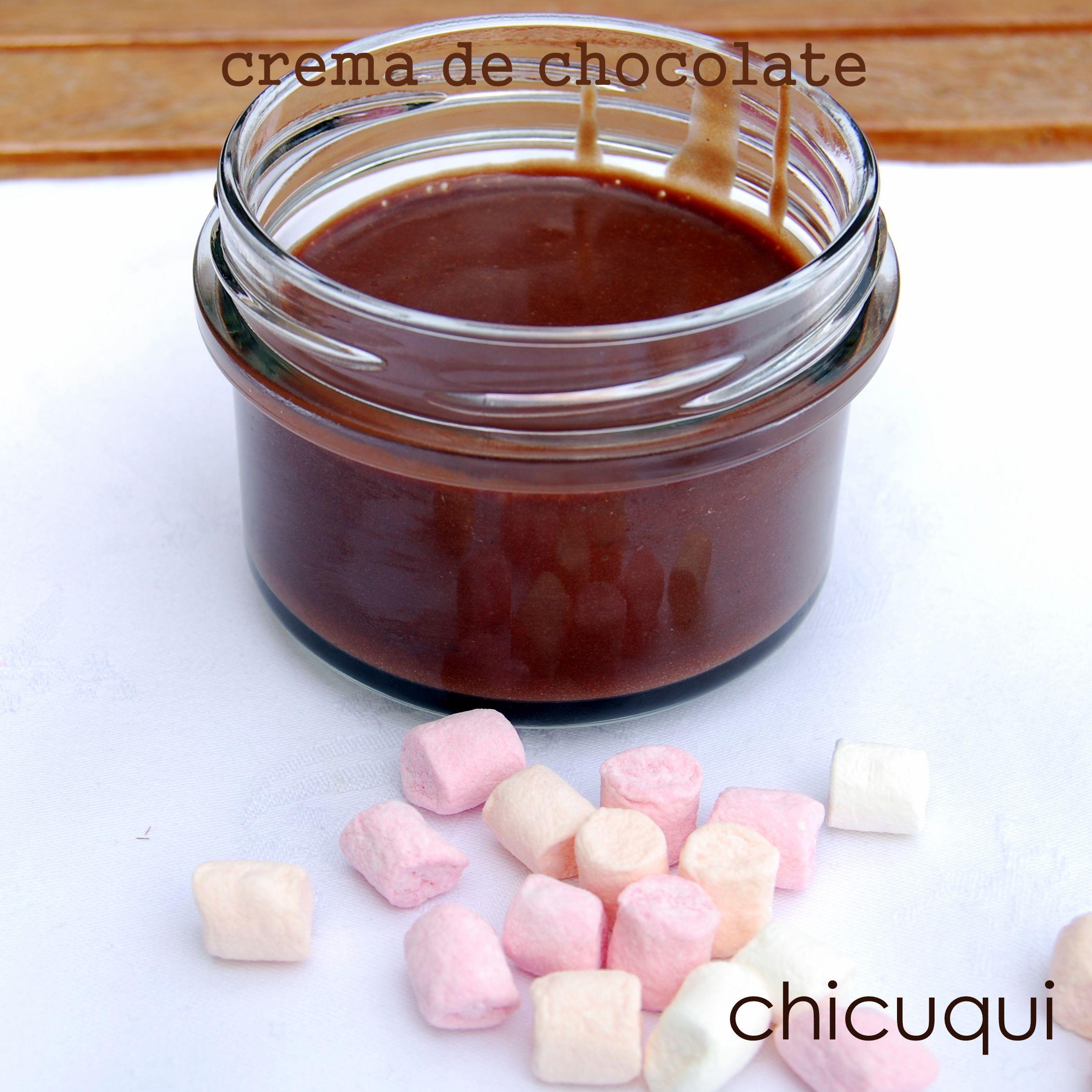 crema de chocolate galletas decoradas chicuqui.com